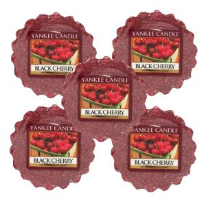 Yankee Candle Wax Tart Black Cherry 5 for the price of 4