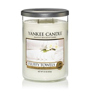 Yankee Candle Large 2 Wick Tumbler Fluffy Towels
